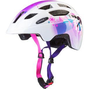 Uvex finale junior led Fahrradhelm pink girl