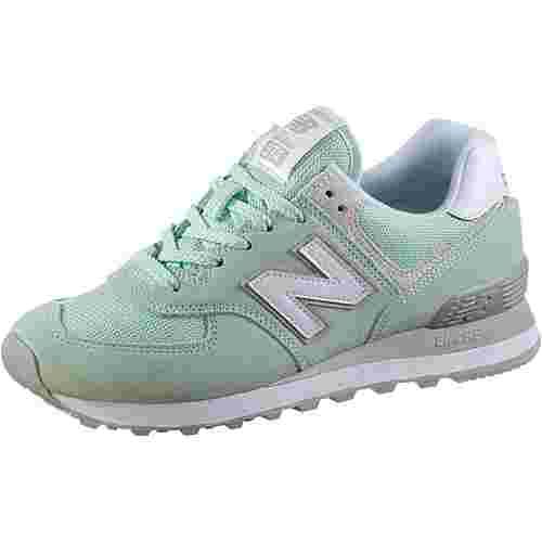 NEW BALANCE WL574 Sneaker Damen seafoam green