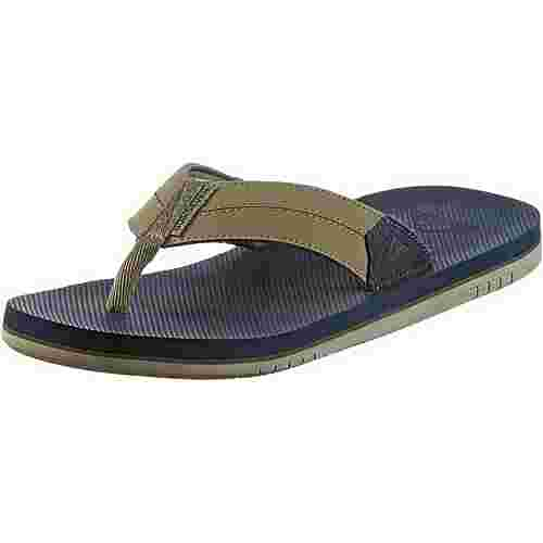Quiksilver COASTAL OASIS II Zehensandalen Herren BROWN/BLUE/BROWN