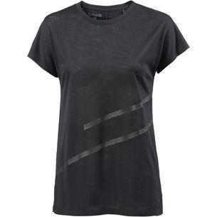 SCHECK Merino T-Shirt Damen schwarz