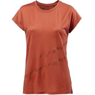 SCHECK Merino T-Shirt Damen rot