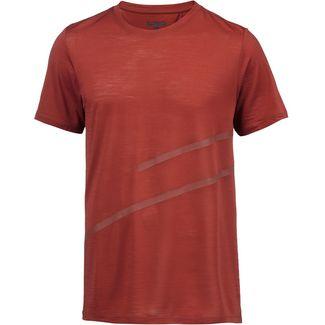 SCHECK Merino T-Shirt Herren rot