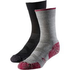 Smartwool Doppelpack Sport Light Crew Wandersocken black-light gray