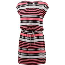 Bench Kurzarmkleid Damen block stripe-strawberry pink