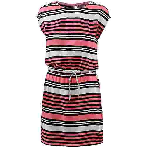 Bench Kurzarmkleid Damen block stripe-strawberry pink