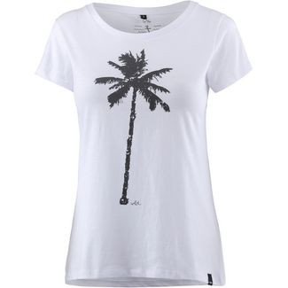 WLD THE PALM T-Shirt Damen WHITE