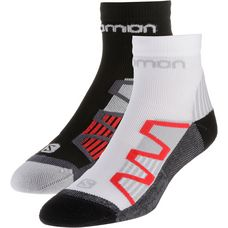 Salomon XT Hawk Laufsocken black-red-white-red