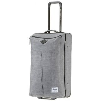 Herschel Parcel Trolley Raven Crosshatch
