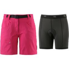Gonso Mira Bike Shorts Damen granata