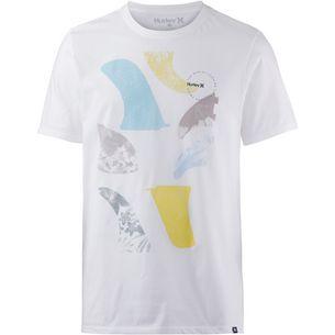 Hurley FINNER T-Shirt Herren WHITE
