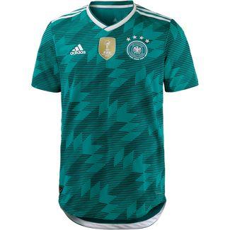 adidas DFB WM 2018 Auswärts Authentic Fußballtrikot Herren eqtgreen/white/realteal
