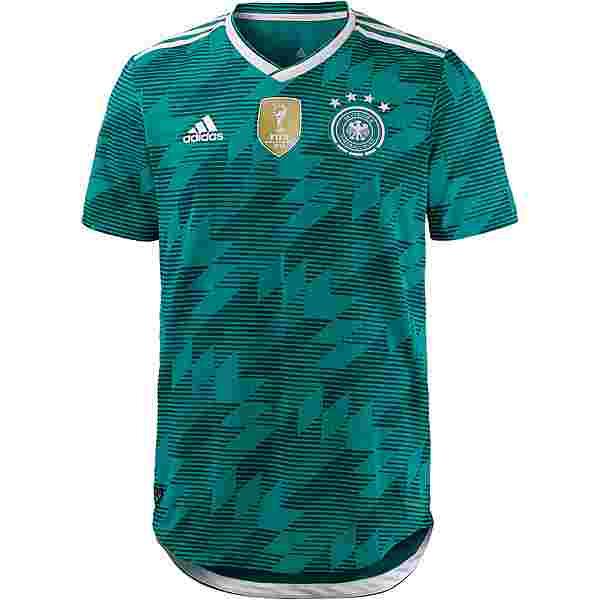 adidas DFB WM 2018 Auswärts Authentic Trikot Herren eqtgreen/white/realteal