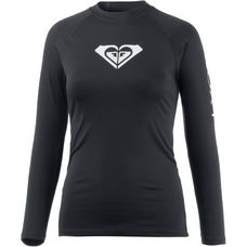 Roxy WHOLEHEARTED LS Surf Shirt Damen ANTHRACITE