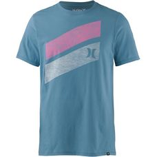 Hurley ICON SLASH PUSH THROUGH T-Shirt Herren NOISE AQUA
