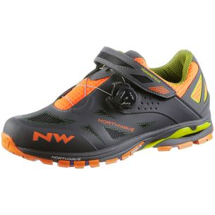 Northwave Sppider Plus 2 Fahrradschuhe Herren anthra/black/orange