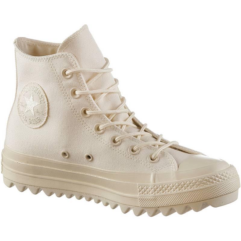 newest 1e81f bf849 CONVERSECTAS LIFT RIPPLE HI SneakerDamen natural
