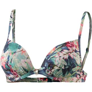 watercult Floral Camo Bikini Oberteil Damen vintage-jungle