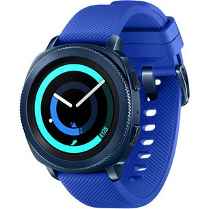 Samsung Gear Sport Aktion Bundle Smartwatch blue