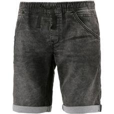 TOM TAILOR Jeansshorts Herren used dark stone grey denim