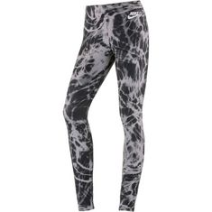 Nike Club Leggings Damen black-white