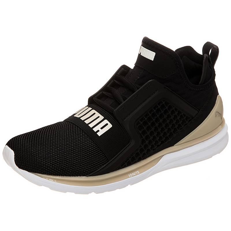 PUMAIgnite Limitless Knit  SneakerHerren  schwarz / beige