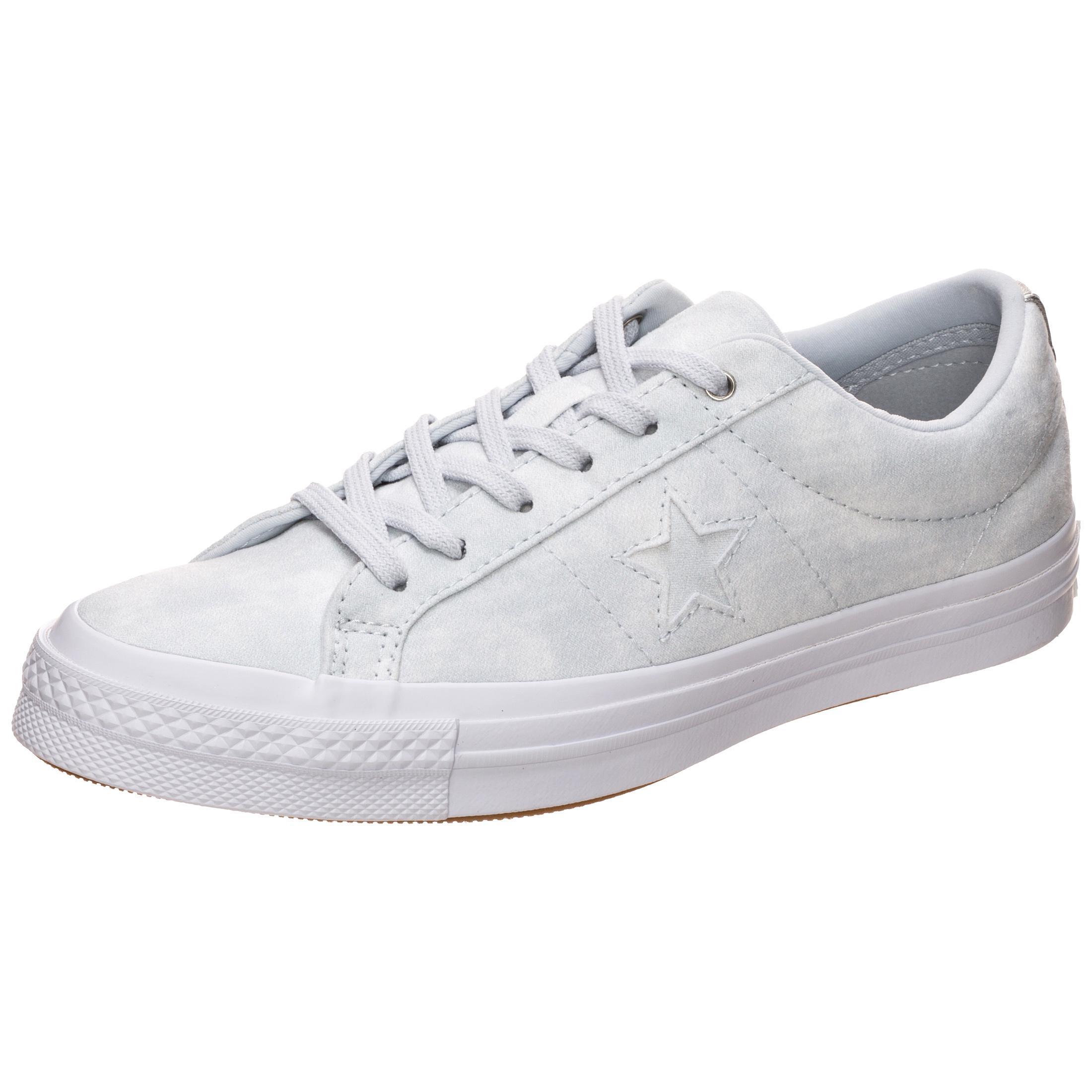 CONVERSE Cons One Star Peached Wash Turnschuhe Damen hellgrau im Online Shop von SportScheck kaufen Gute Qualität beliebte Schuhe