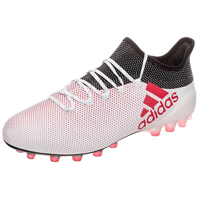 sports shoes 0c852 d4ce1 adidas X 17.1 Fußballschuhe Herren weiß  rot  schwarz