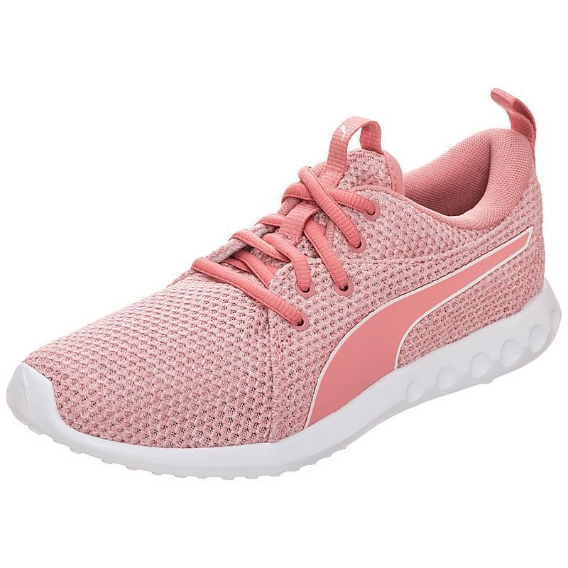 low priced ee7fd e865b PUMACarson 2 Nature Knit SneakerDamen rosa   weiß