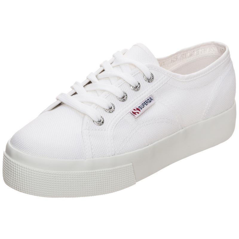 Superga - Damen - 2730 Cotu W - Sneaker - weiß
