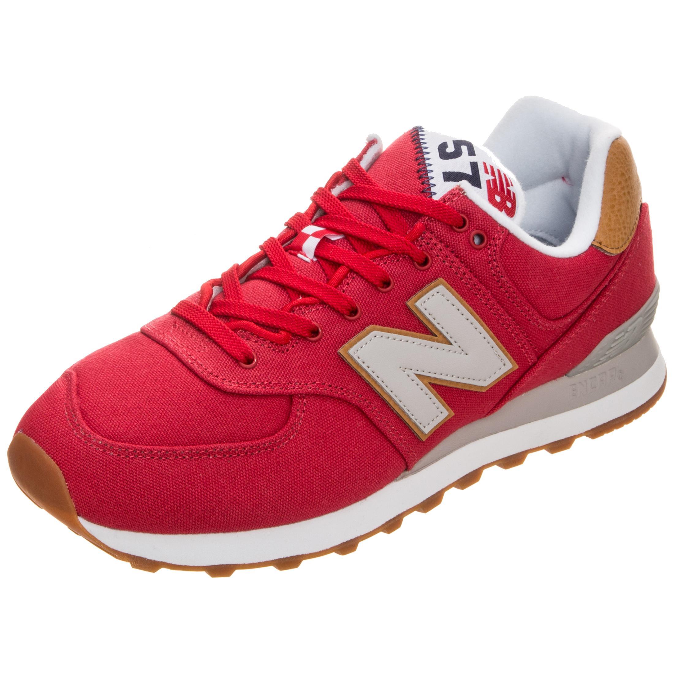 official photos ebdce 03061 NEW BALANCE ML574-YLA-D Sneaker Herren rot / weiß im Online Shop von  SportScheck kaufen