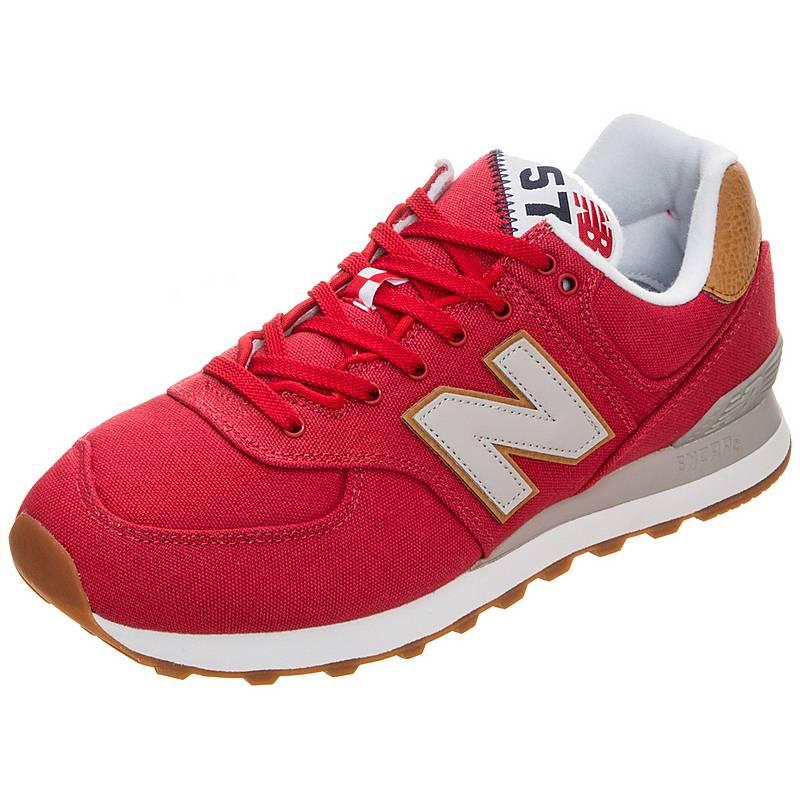 new arrivals 9b98b 15a13 ... denmark new balanceml574ylad sneakerherren rot weiß 8b51d c0ee1