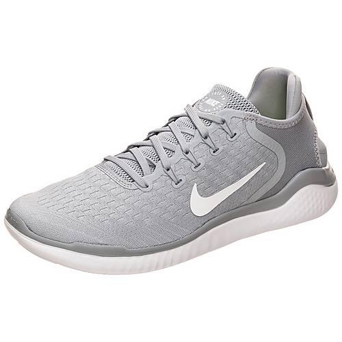 Nike Free RN 2018 Laufschuhe Herren grau / weiß im Online Shop von ...
