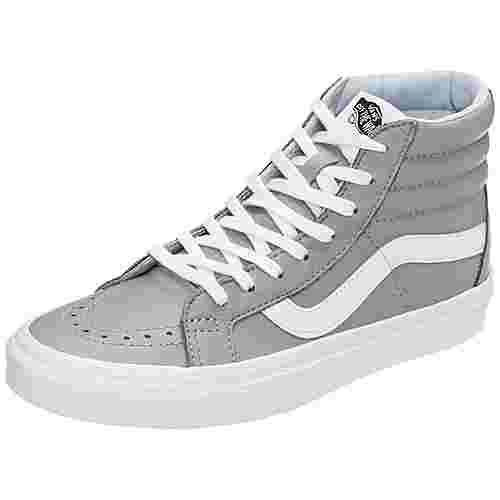 Vans Sk8-Hi Reissue Sneaker Herren grau / weiß