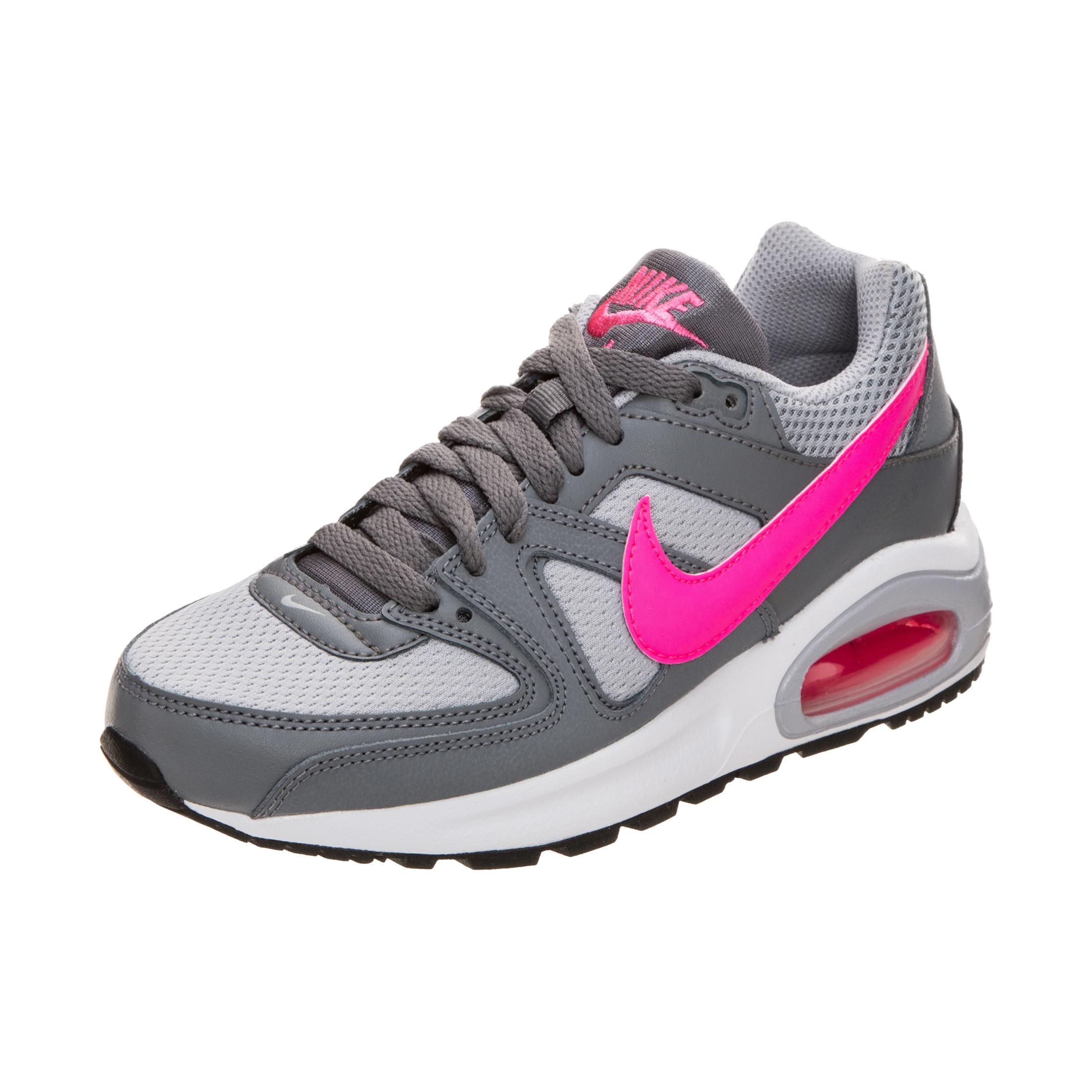 Nike Air Max Command Flex Sneaker Mädchen grau / pink im Online Shop ...