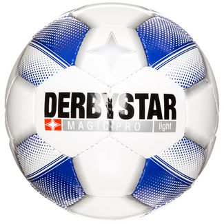 Derbystar Magic Pro Light Fußball Kinder weiß / blau