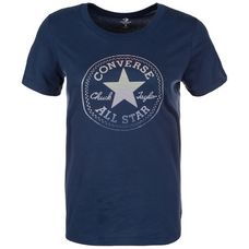 CONVERSE Clear Foil Chuck Patch T-Shirt Damen dunkelblau