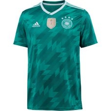 adidas DFB WM 2018 Auswärts Fußballtrikot Herren eqtgreen/white/realteal