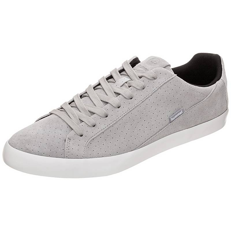 competitive price c9409 c2e85 hummelCross Court Suede Sneakergrau   weiß