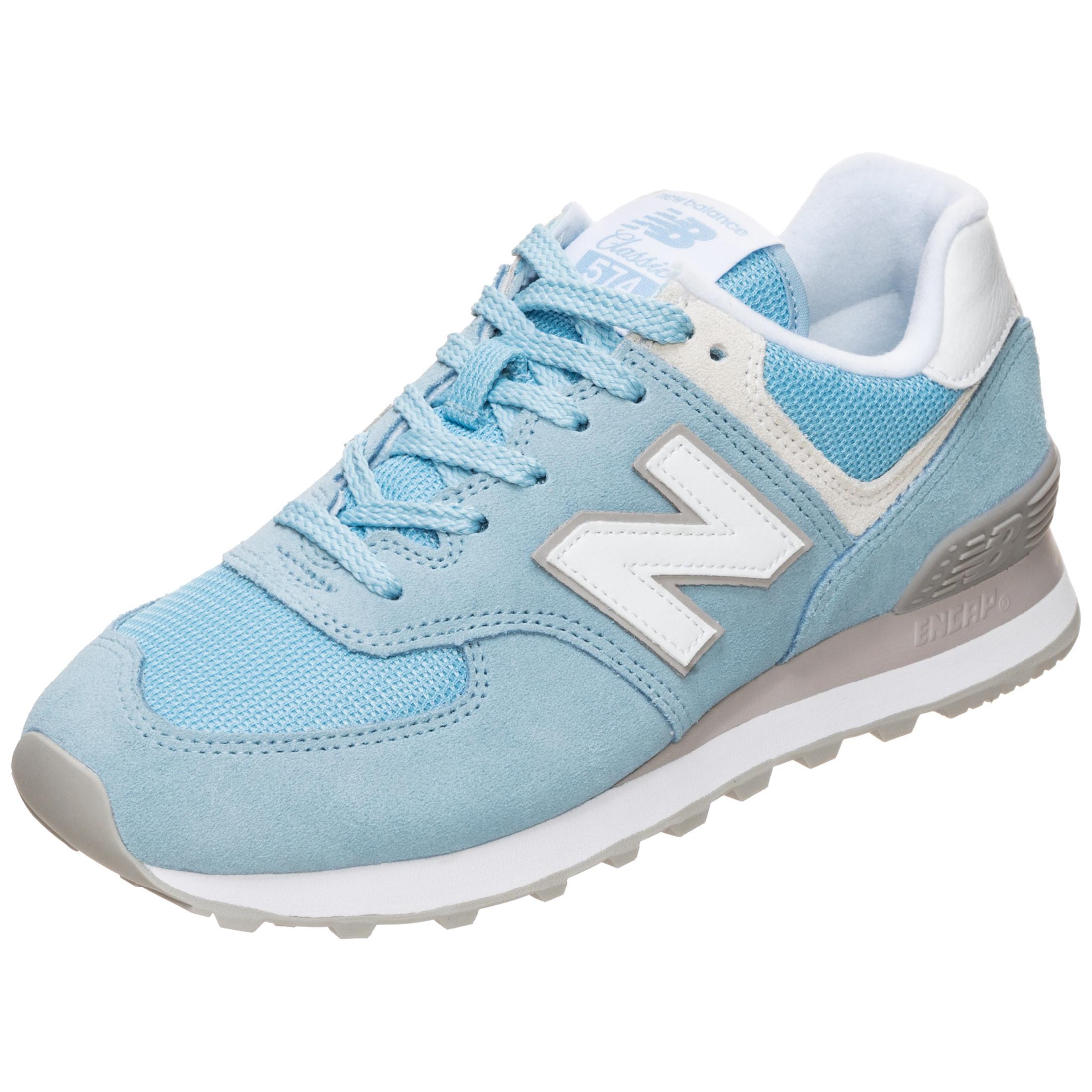 NEW BALANCE WL574-ESB-B Sneaker Damen hellblau / grau im Online Shop von  SportScheck kaufen