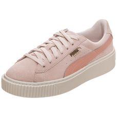 puma sneaker plateau rose