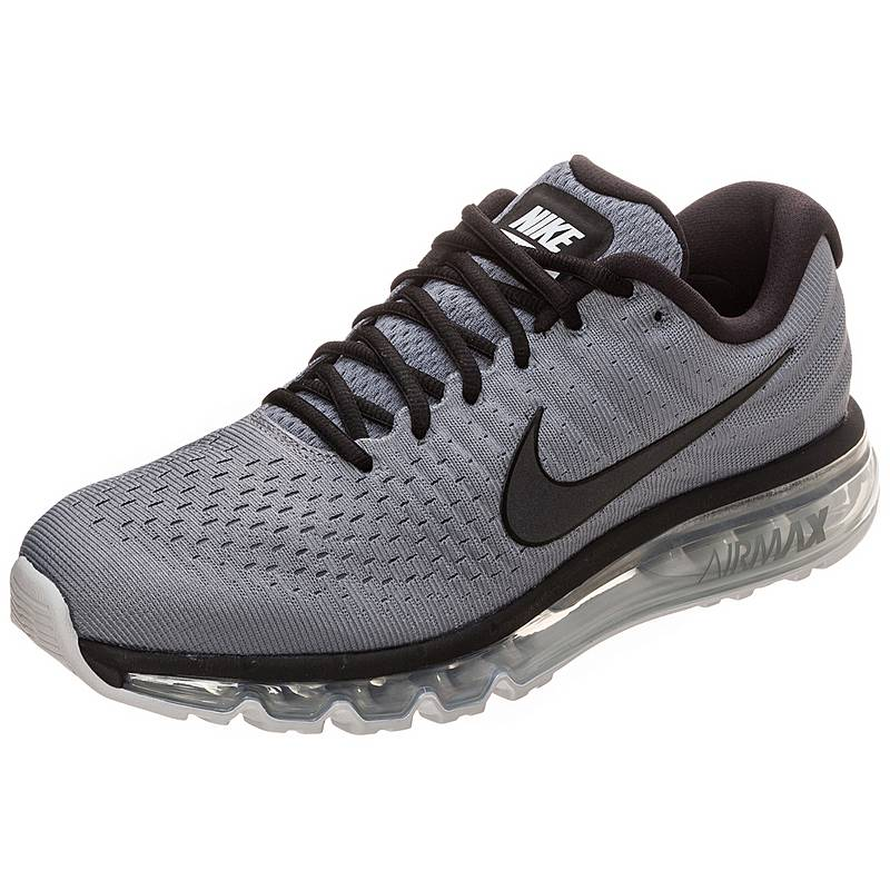 hot sale online ad9a1 8a77f Nike Air Max 2017 Laufschuhe Herren grau  schwarz