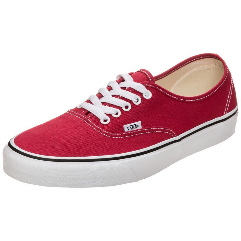Authentic Sneaker rot/weiß Vans