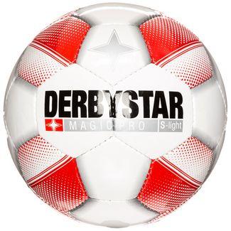 Derbystar Magic Pro S-Light Fußball Kinder weiß / rot