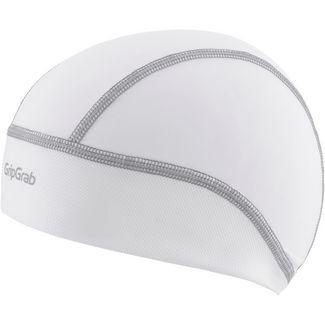 GripGrab Summer Skull Cap Helmmütze white