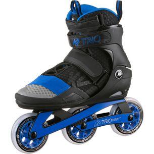 K2 Trio 100 Fitness Skates schwarz-grau-blau