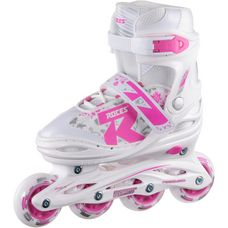 ROCES Jockey 2.0 Fitness Skates Kinder white-pink