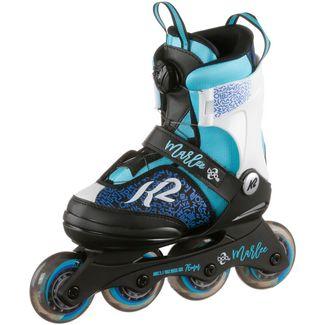 K2 Marlee Boa Fitness Skates Kinder schwarz-blau-türkis-grau
