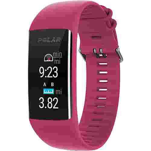 Polar A370 Fitness Tracker ruby red