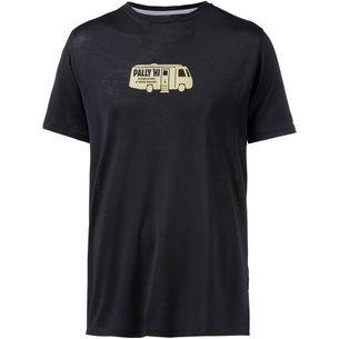 Pally Hi OUTDOOR ACTIVISM Merino T-Shirt Herren Bluek