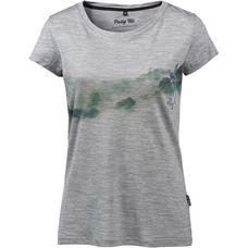 Pally Hi TREELINE T-Shirt Damen Heather Grey